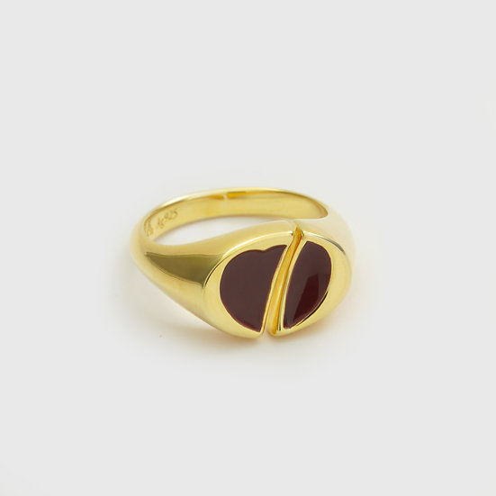 Beetlejuice Pinky Ring (Gold) by Re-attach