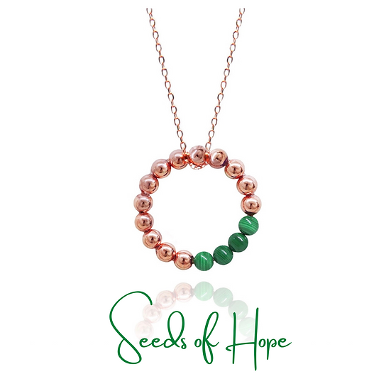 Seeds of Hope Necklace (Green)
