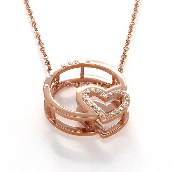 Lextia - Love Pluto Stainless Steel Pendant / Love Pluto 精鋼 吊墜