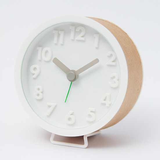 OBGIC -  Kraft Paper Alarm Clock 牛皮紙管鬧鐘