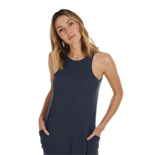 Dagsmejan Sleep Dress Women-Nattwell™ Sleep Tech (Dark Grey)/瑞士科研恒溫睡衣裙 (深灰)