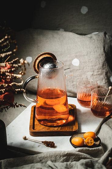 Get the Pong - Oh!T Tea Pot, Magnetic Tea  Infuser Adjusts to Your Taste