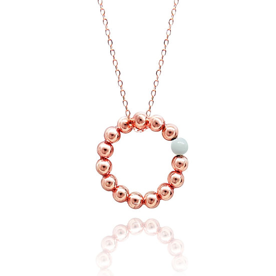AZZE Jewelry -Seeds of Love Necklace (white) / 愛的種子 項錬 (白貝)