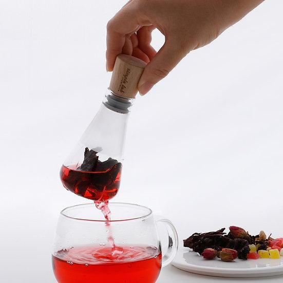 FLASK+. Glass Tea Infuser