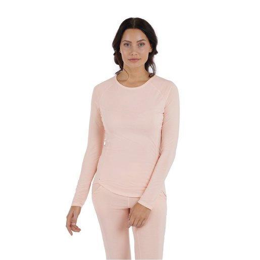 Dagsmejan Sleep Long Sleeve Women-Nattwell™ Sleep Tech (Peach)