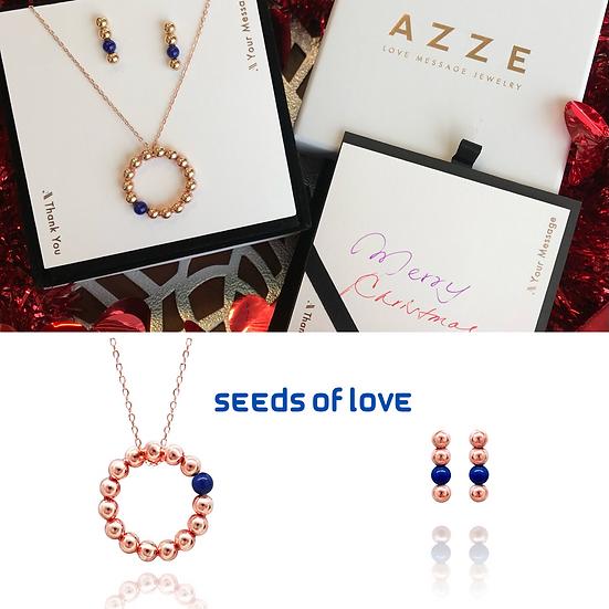 Seeds of Love (Navy) Xmas Set