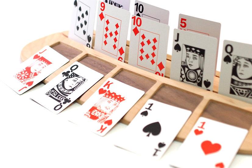 Pokermate Deluxe (Poker + Wooden Stand) / 我的撲克伴侶