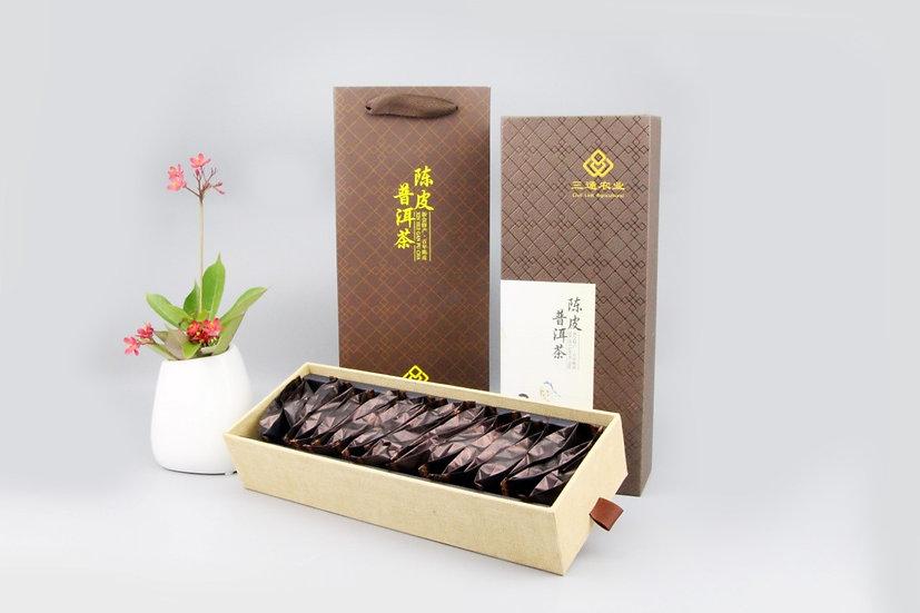 Tangerine Pu-er Tea 陳皮普洱茶