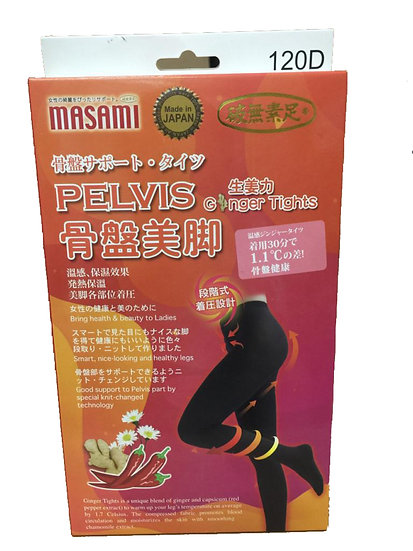 Masami - Pelvis-Support Tights 120D / 骨盤美腳 120D