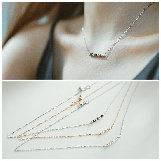 AZZE Jewelry - MINI SEEDS Necklace / 迷你種子 珍珠項鏈