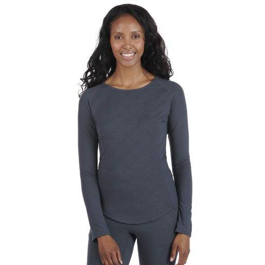 Dagsmejan Sleep Long Sleeve Women-Nattwell™ Sleep Tech (Dark Grey)