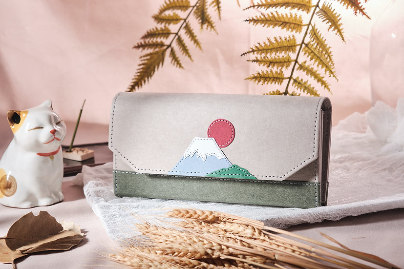 紙造可能 - 富士山紙銀包 Mount Fuji paper wallet