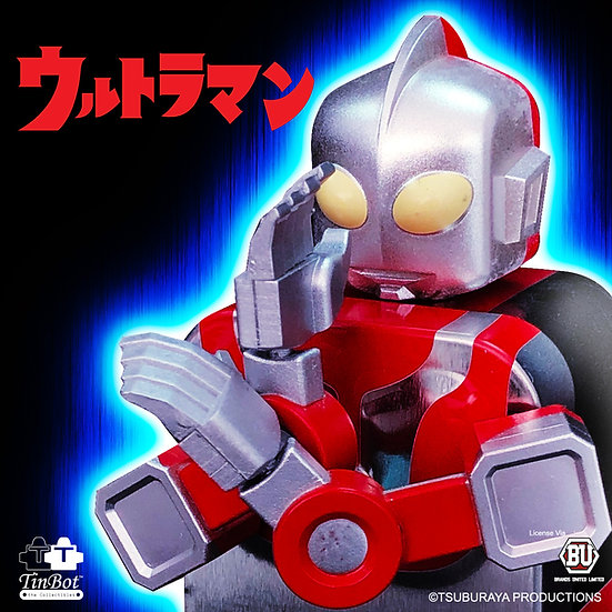 Tin Bot The Collectibles – Ultraman TinBot