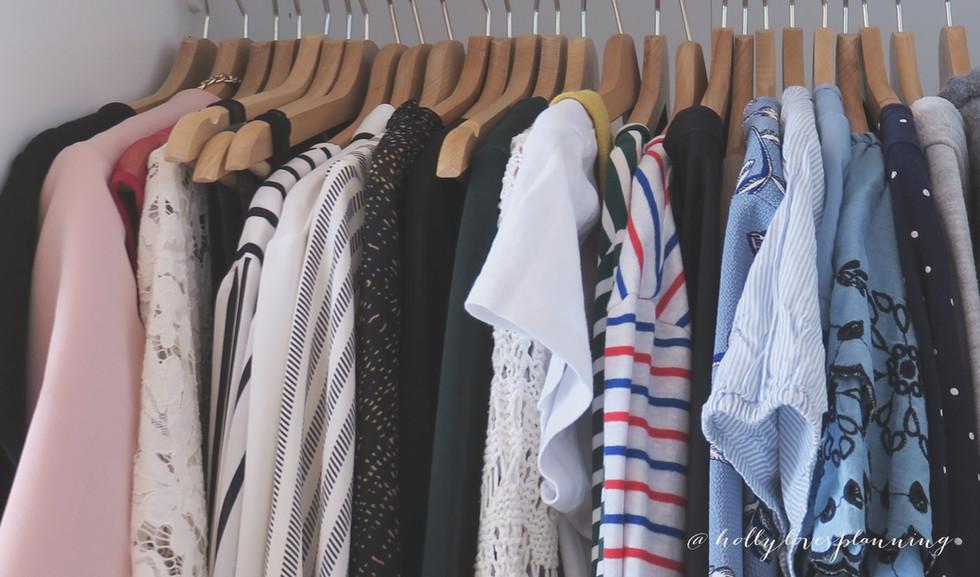 A glimpse into my Capsule Wardrobe - Spring 2019