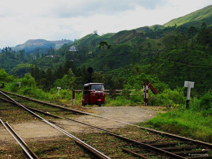 Train from Kandy to Ella, Sri Lanka