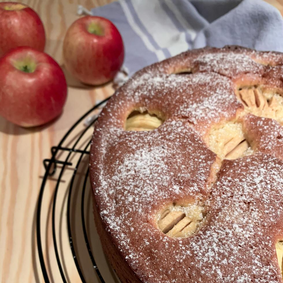 Mamas Versunkener Apfelkuchen