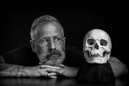 Self-Portrait w_Skull.JPG