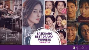 5 Years of Baeksang Best Drama Winners