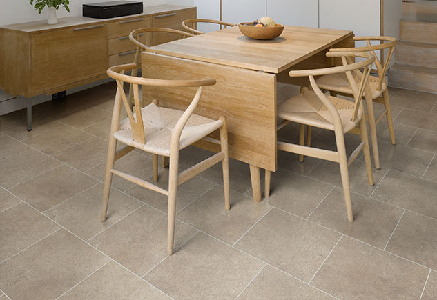 4537 Fossil Limestone with  Ice Grouting Strip