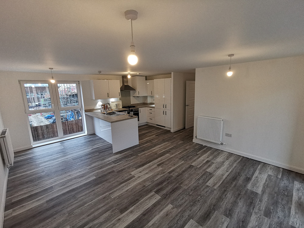 Camaro Boathouse Oak Supplied and installed by Westland Carpets and Flooring in new build property in Dartford, Kent