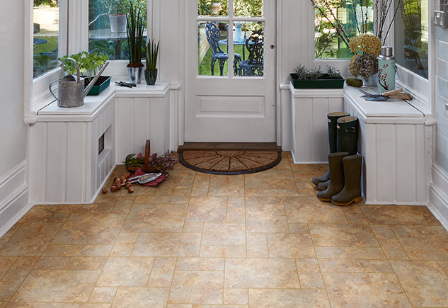 2301 Romano Stone with Gold Feature Strip