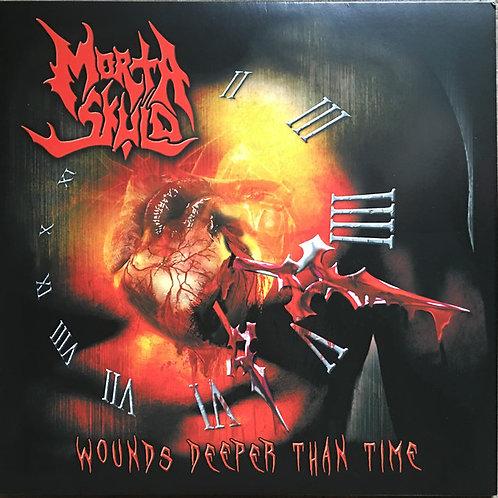 "MORTA SKULD - Wounds deeper than time (Black Vinyl 12"")"