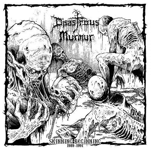 "DISASTROUS MURMUR - Skinning beginning 1989 - 1991 (Black Vinyl 12"")"