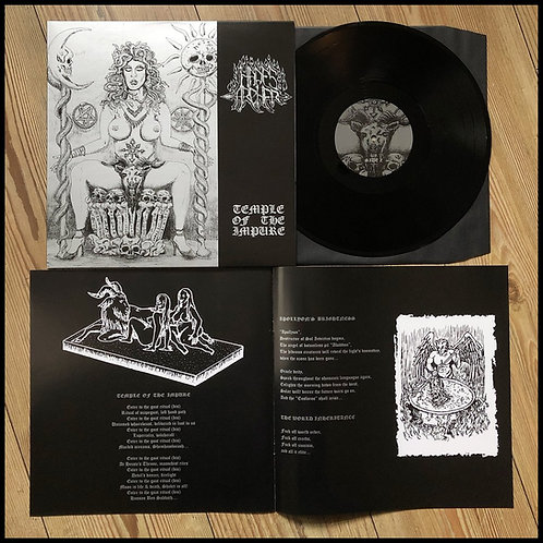 "HADES ARCHER - Temple Of The Impure (12"" Black Vinyl + booklet)"