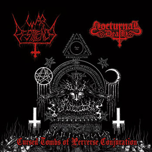 War Pestilence / Nocturnal Death	Cursed Tombs of Perverse Conjuration (CD)