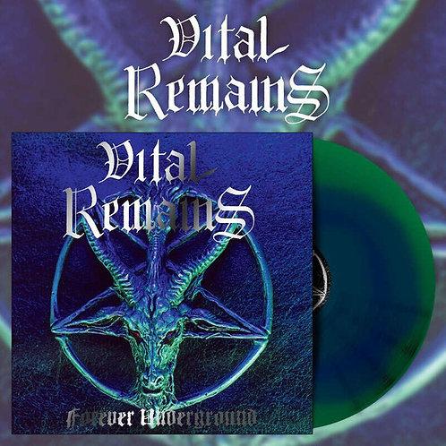 """VITAL REMAINS - Forever underground  (Green Vinyl 12"""")"""