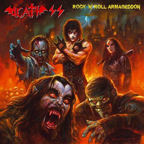 """DEATH SS - Rock 'n' Roll Armageddon (DLP Magenta Vinyl 12"""")"""