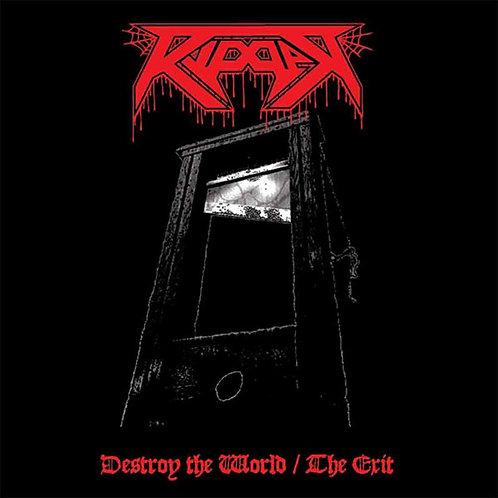"RIPPER - The Exit / Destroy the World (Black Vinyl 12"")"