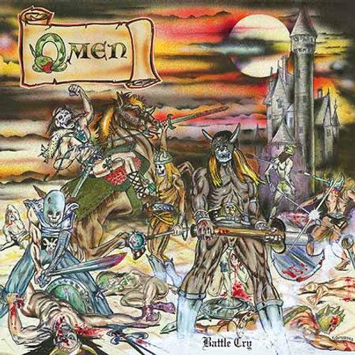 """OMEN - Battle Cry  (Black Vinyl 12"""")"""