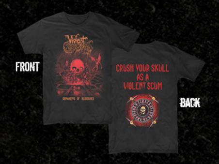 VIOLENT SCUM - Ornaments Of Bloodshed (POLERA)