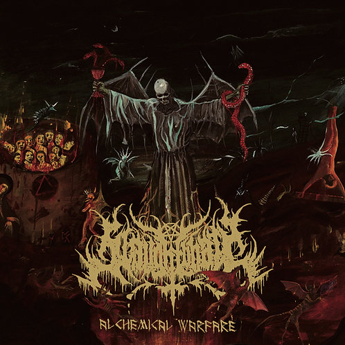 SLAUGHTBBATH - Alchemical Warfare (CD)