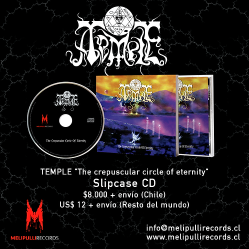 TEMPLE - The crepuscular circle of eternity (MCD Slipcase)