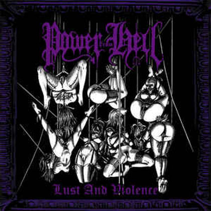 POWER FROM HELL - Lust And Violence (CD)