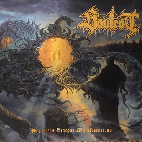 """SOULROT - NAMELESS HIDEOUS MANIFESTATIONS (Black Vinyl 12"""")"""