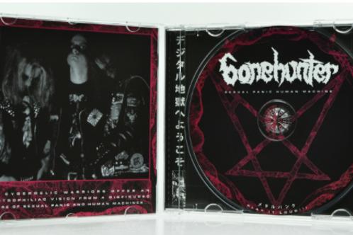 BONEHUNTER - Sexual Panic Human Machine (CD)