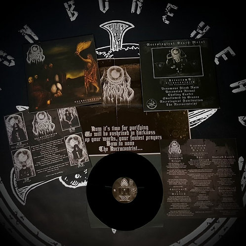 "Uttertomb - Necrocentrism: The Necrocentrist (Black Vinyl 12"")"