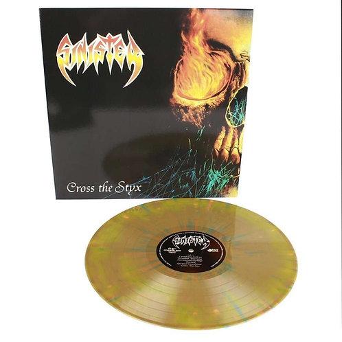 """SINISTER - Cross the styx   (Splatter Vinyl 12"""")"""