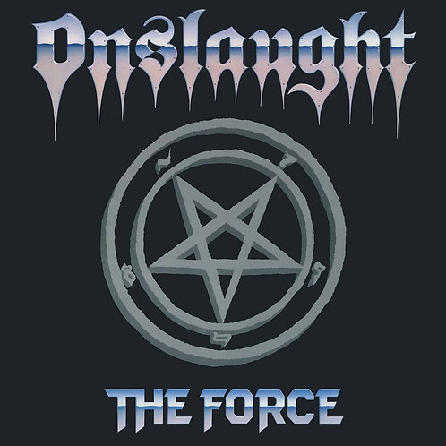 "ONSLAUGHT - The Force  (Blue Vinyl 12"")"