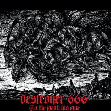 DESTROYER 666 - To The Devil His Due (CD)