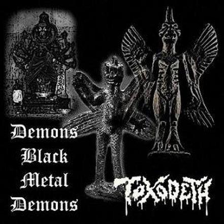 TOXODETH - Demons Black Metal Demons (CD)