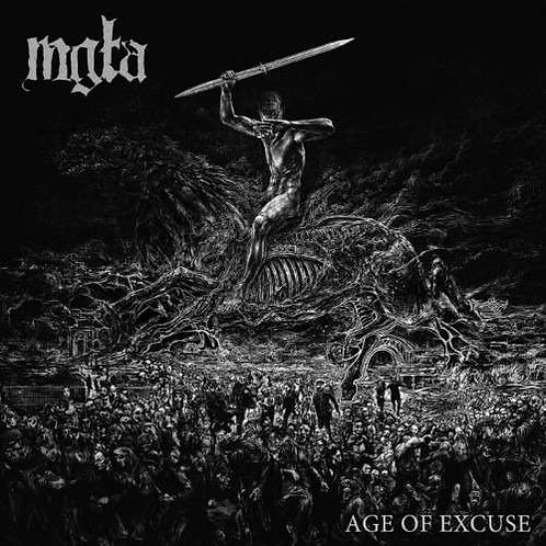 "MGLA - Ages of excuse  (Black Vinyl 12"")"
