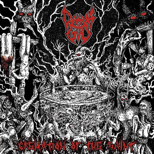 DARKGOD - Cremation of the saint (CD)