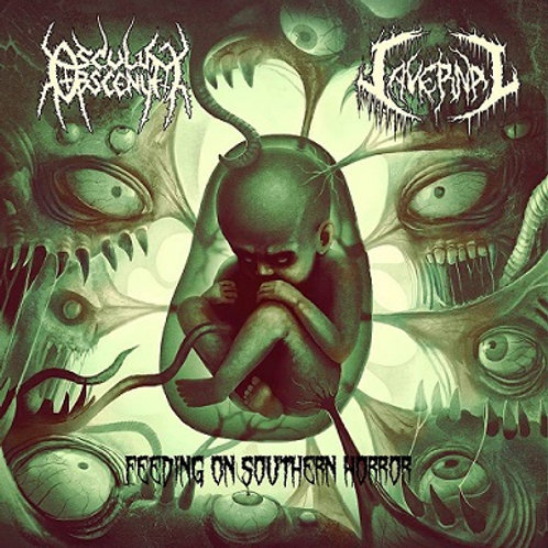 Osculum Obscenum / Cavernal - Feeding On Southern Horror   (CD)
