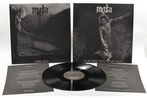 "MGLA - Mdlosci + further down the nest (Black Vinyl 12"")"