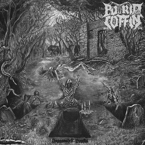 Putrid Coffin - Desecrated Tombs (CD)