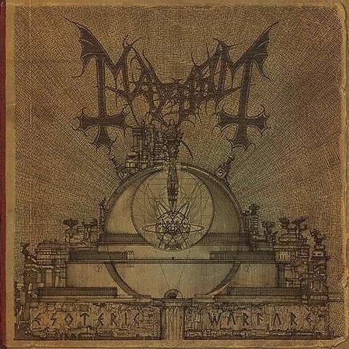 MAYHEM - Esoteric warfare  (Gatefold  Double Black Vinyl)